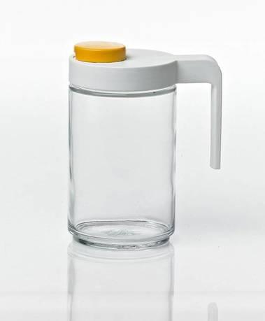Фото - Бутылка для масла и соусов (0.6 л), 8.6x14.82 см IP-608S Glasslock банка для хранения солений ягод варенья 4 л 16х13 5х29 см ip 636 glasslock