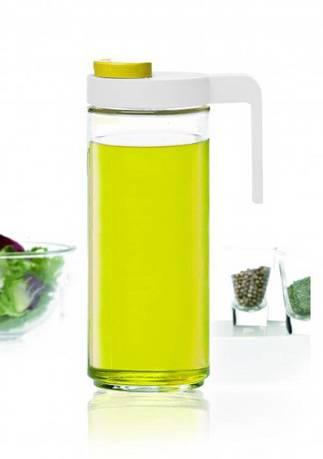 Glasslock Бутылка для масла (1.05 л), 8.5x25.5 см, желтый windrose wr 3695 8