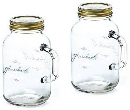 Фото - Набор банок (0.5 л), 2 пр., с ручкой IG-753 Glasslock набор чаш glasslock gl 532