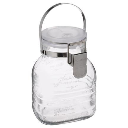 Банка для хранения солений, ягод, варенья (1 л), 12х9.7х16 см IP-634 Glasslock банка для консервации glasslock 1 л ip 627