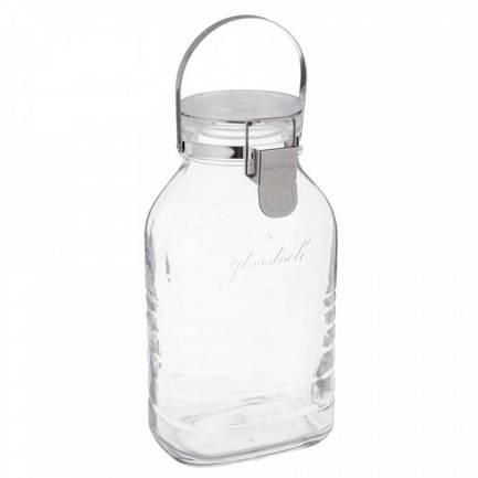 Банка для хранения солений, ягод, варенья (4 л), 16х13.5х29 см IP-636 Glasslock банка glasslock ip 537 l