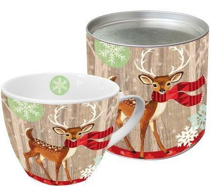 Paperproducts Design Кружка Deer with Scarf (0.45 л), в подарочной коробке paperproducts design