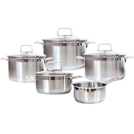 Swiss Diamond Набор посуды Premium Steel, 5 пр.