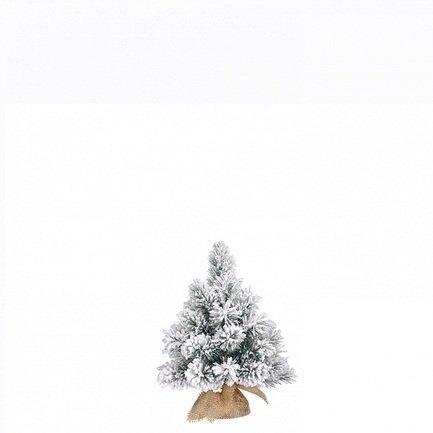 Triumph Tree Ель Метелица, 45 см, в мешочке, заснеженная ель искусственная заснеженная 60см