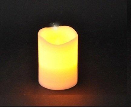 Декор Свеча, 10х7.5 см, теплый желтый свет 83164 Triumph Tree