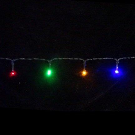 цена  Luca lights Световая гирлянда для наружного и внутреннего использования, мультиколор, 48 лампочек, 360 см  онлайн в 2017 году