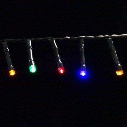 цена  Luca lights Световая гирлянда для наружного и внутреннего использования, мультиколор, 368 лампочек, 2760 см  онлайн в 2017 году