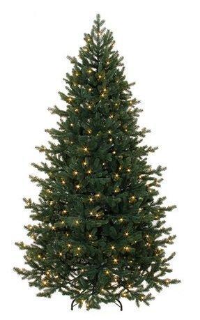 Triumph Tree Ель Шервуд Премиум, стройная, 155 см, 120 ламп, зеленая
