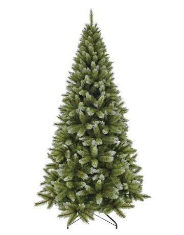 Triumph Tree Ель Женева, 155 см, с шишками, заснеженная