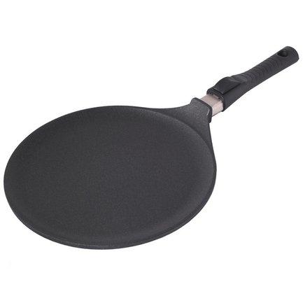 Сковородалитая для блинов Giant Newline, 28см, со съемной ручкой