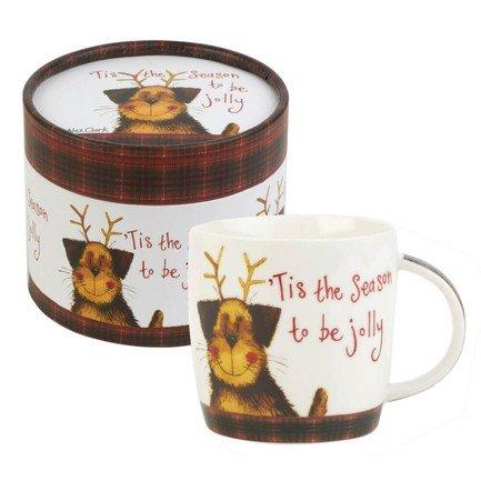Churchill Кружка Рождество (0.284 л), в подарочной коробке ALCK10471 Churchill churchill кружка журавль 0 425 л в подарочной коробке серая harl00381 churchill
