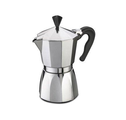 G.A.T. Кофеварка гейзерная Supermoka (0.3 л), на 6 чашек 104006 G.A.T. кофеварка гейзерная tescoma monte carlo  на 6 чашек