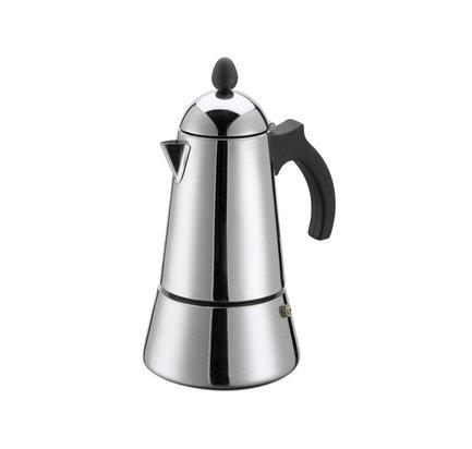 Кофеварка гейзерная Eterna (0.2 л), на 4 чашки 01-090-04 G.A.T. кронштейн д аксессуаров v7116 1 31х37х21см черный с золотом