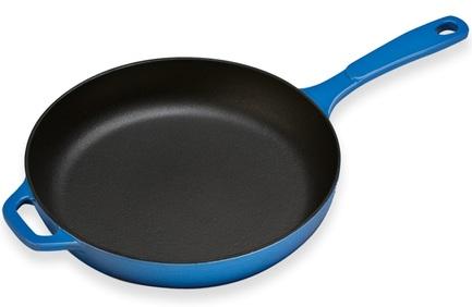 Lodge Сковорода круглая, 28 см, синяя