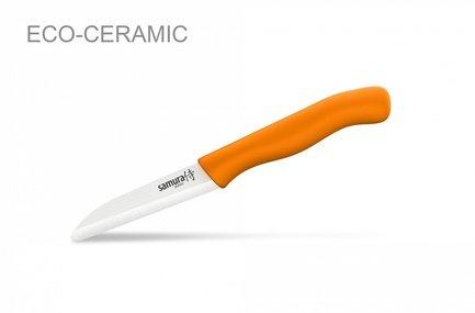 Samura Нож овощной Samura Eco, 7.5 см, оранжевый
