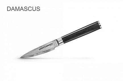 цена на Samura Нож для овощей Damascus, 9 см, G-10 SD-0010/K Samura