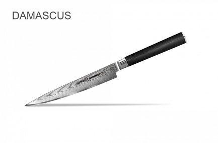 Samura Нож универсальный Damascus, 12.5 см SD-0021/K Samura samura нож универсальный pro s 11 5 см sp 0021 k samura