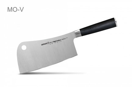 купить Samura Топорик кухонный Mo-V, 18 см дешево