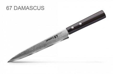 Samura Нож для нарезки 67 Damascus, 19.5 см SD67-0045/K Samura нож для нарезки samura damascus sd 0045 16