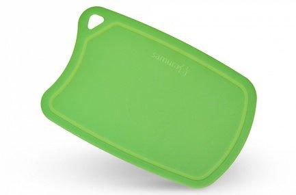 Samura Доска термопластиковая, 38х25х0.2 см, зеленая SF-02GR/K Samura