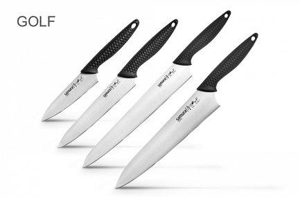 Samura Набор ножей Golf, 4 пр. набор из 4 ножей и подставки samura bamboo в подарочной коробке