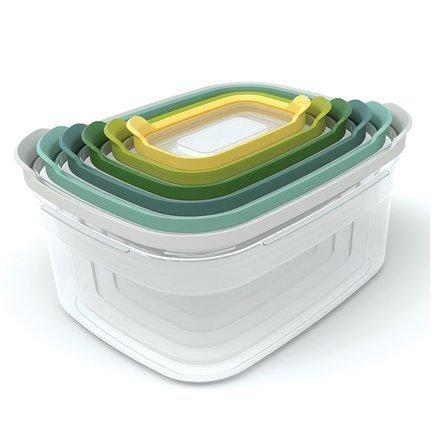 Joseph&Joseph Контейнеры для хранения продуктов Nest 6, 12.5x25.5x21 см, 6 пр. joseph joseph контейнеры для хранения продуктов nest™3