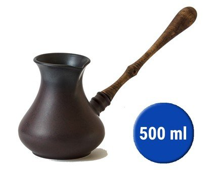 Турка Кувшин (0.5 л), черная