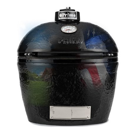Primo Гриль угольный Oval Large Base, 62х60х48 см 775B Primo гриль угольный с плоской крышкой 49 см