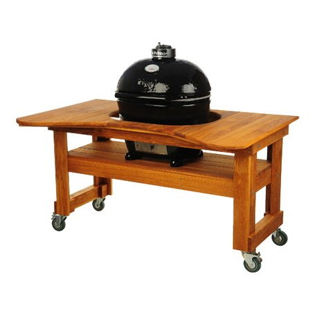 Гриль угольный Oval Large Base, на дубовом столе 775D Primo primo гриль угольный oval xl base на дубовом столе 778d primo