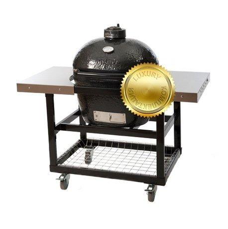 Primo Гриль угольный Oval Large Luxury, на столе-тележке 775SL Primo