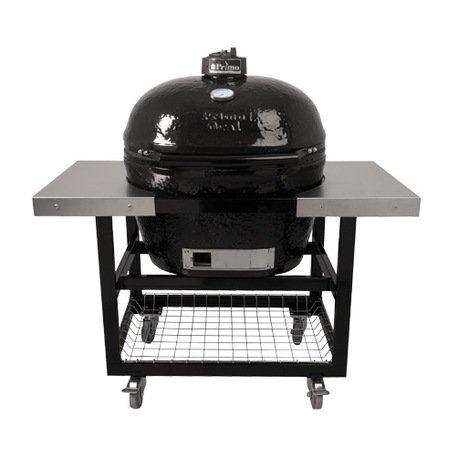 Primo Гриль угольный Oval XL Base, на столе-тележке 778S Primo цены