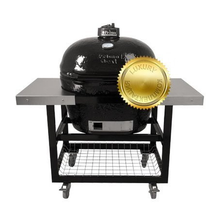 Primo Гриль угольный Oval XL Luxury, на столе-тележке 778SL Primo