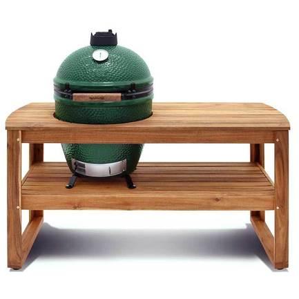 Big Green Egg Стол для гриля L, 150х60х80 см, акация 118257 Big Green Egg цена