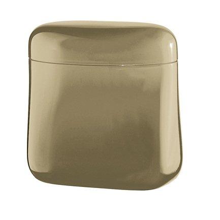 Guzzini Банка для кофе Gocce (0.7 л), 14х14.5х8.5 см, песочная 27300039 Guzzini банка для кофе guzzini gocce 0 7 л прозрачный