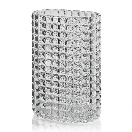 Guzzini Ваза Tiffany, 20х29х12 см, серая 19990092 Guzzini пиала tiffany серая