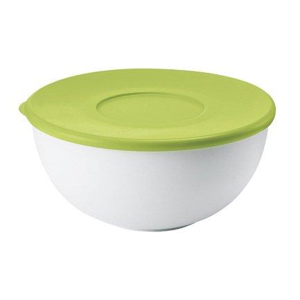 Guzzini Контейнер круглый (2 л), 20х9.4 см, зеленая крышка