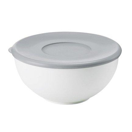 Guzzini Контейнер круглый (2 л), 20х9.4 см, серая крышка