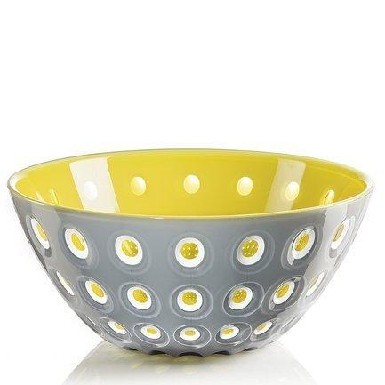 Guzzini Салатница Le Murrine (2.7 л), 25 см, желто-серая 279425141 Guzzini guzzini салатница grace 1 5 л 20 см серая 29692092 guzzini