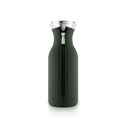 Графин Fridge в неопреновом чехле (1 л), 9х27 см, темно-зеленый 567977 Eva Solo