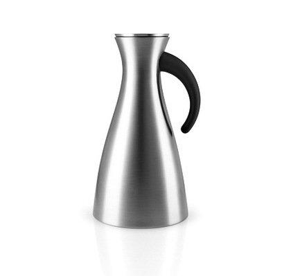 Фото - Термокувшин Vacuum (1 л), высокий, сталь, 15.5x29 см 502932 Eva Solo термокувшин eva solo vacuum цвет серый металлик 1 л 502932