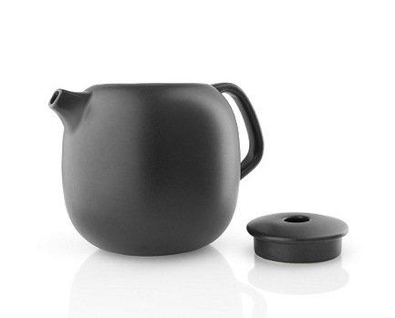Чайник Nordic kitchen (1 л), 13.7х14 см, черный 502755 Eva Solo подставка eva solo nordic kitchen черный