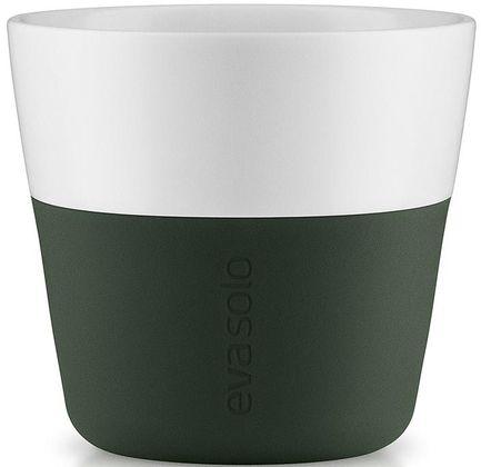Eva Solo Чашки для лунго Lungo, темно-зеленые, 8.5x8 см (230 мл), 2 шт. 501056 Eva Solo eva solo бокалы пивные малые 350 мл 7 5x15 5 см 2 шт 541111 eva solo