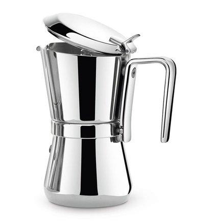 Giannini Кофеварка гейзерная Giannina, на 6 чашек 3006010S Giannini кофеварка гейзерная tescoma monte carlo  на 6 чашек