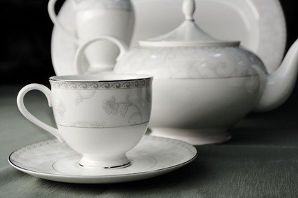 Royal Bone China Сервиз чайный Жизель на 6 персон, 17 пр. 8994/17022 Royal Bone China подвеска china wind