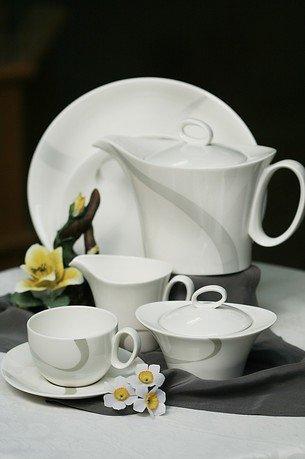 Сервиз чайный Атласная лента на 6 персон, 17 пр. 8938/17056 Royal Bone China