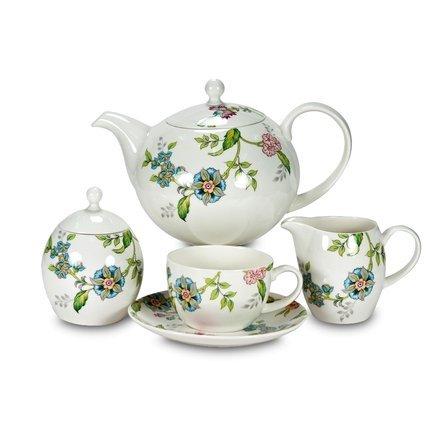 Сервиз чайный Прованс на 6 персон, 23 пр. 9016/23/1 Royal Bone China royal bone china сервиз чайный файналей на 6 персон 17 пр 8998 17010 royal bone china
