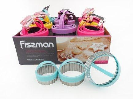 Fissman Набор формочек для выпекания, 3 шт PR-7467.BW Fissman цена в Москве и Питере
