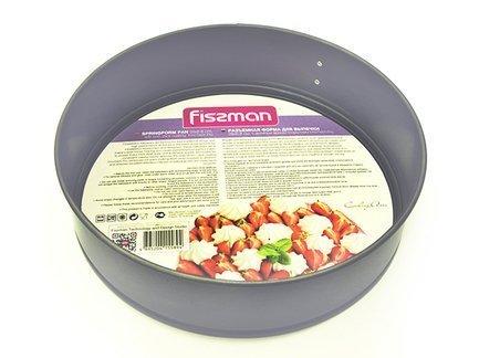 Fissman Разъемная форма для выпечки пирога, 26x6.8 см