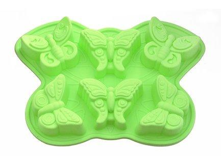 Форма для выпечки 6 кексов Бабочка, 32.5x23x3.8 см 6660 Fissman