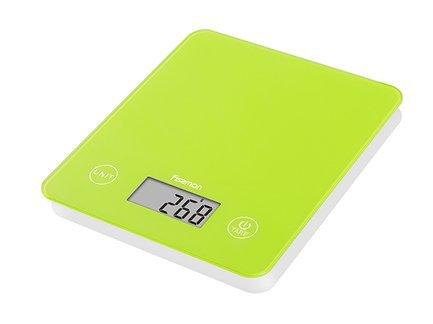 Fissman Весы кухонные электронные, 22x19x1.8 см EL-0322.KS Fissman кухонные электронные весы changdi t vks303